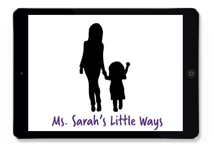 Ms. Sarah's Little Ways Logo