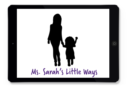 Ms. Sarah's Little Ways Logo